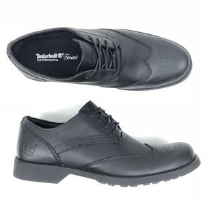 Timberland Fitchburg Wingtip Oxford Leather Shoes